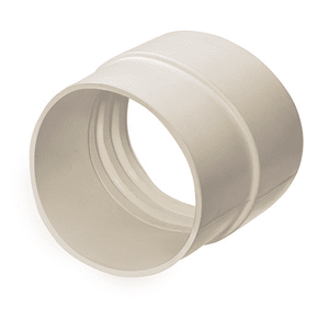 CMCW-400 Kuriyama tiger Extendo-Duct Air Ducting Hose Cuffs - White - Thickness: 3mm - Cuff Length: ID 1.97 - OD 1.77