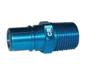 "CR-S Dixon 1/2"" NPT Anodized Aluminum Flomax Standard Series Connector - Coolant Fluid Receiver"