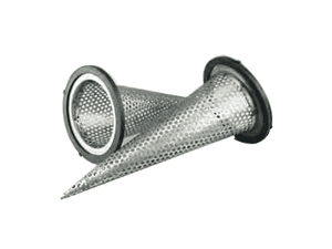 CS300SS Jason Industrial 304 Stainless Steel Sugar Cone Type Strainer - 3""