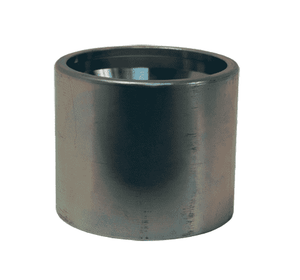 "CSC-T04-1 Dixon 1/4"" Carbon Steel Convoluted Crimp Collar for Open Pitch Convoluted PTFE Hose"