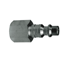 "D3F4 Dixon Steel DF-Series Quick Disconnect 3/8"" Industrial Interchange Pneumatic Nipple - 1/2""-14 Female NPTF"