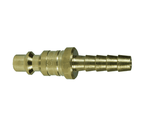 "D2S2-B Dixon Brass DF-Series Quick Disconnect 1/4"" Industrial Interchange Pneumatic Nipple - Standard Hose Barb - 1/4"" Hose ID"