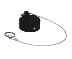 "DDDC400 Dixon 164mm Polyeten PE-HD 300 Dust Cap for 4"" Adapters"