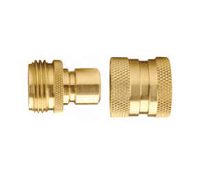 DGH7 Dixon Brass Garden Hose Quick Connector - Complete Assembly