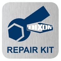 "10H-BRKIT Dixon H-Series ISO-B Hydraulic Quick Disconnect Repair Kit - For: Brass Couplers - 1-1/4"" Body Size - Nitrile"