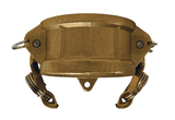 "G200-DC-BR Dixon 2"" ASTMC38000 Forged Brass Global Type DC Dust Cap"