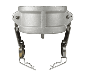 "G75-DC-AL Dixon 3/4"" A380 Permanent Mold Aluminum Global Type DC Dust Cap (with Stainless Steel Handles)"