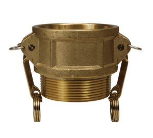 "G500-B-BR Dixon 5"" ASTMC38000 Forged Brass Global Type B Coupler"