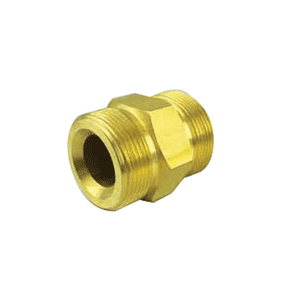 "GDS125 Jason Industrial Ground Joint Coupling - Double Spud - 1-1/4"" Spud Size"