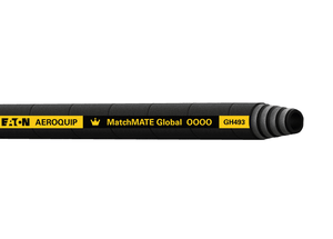 GH493-10 Aeroquip MATCHMATE Global 1/2 SAE Bend Radius Four Spiral Wire Hose with DURA-TUFF Cover SAE 100R12