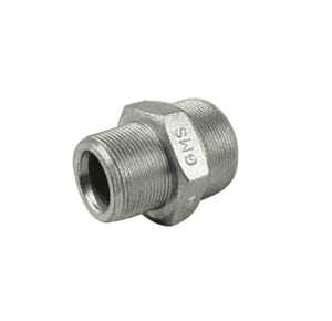 "GMS125 Jason Industrial Steel Ground Joint Coupling - Male Spud - 1-1/4"" Spud Size"