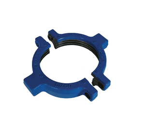 "HU200600RN Dixon 6"" Forged Steel Two-Piece Hammer Union Nut - Split Nut, Figure 200/206, Blue (Includes Bolts)"