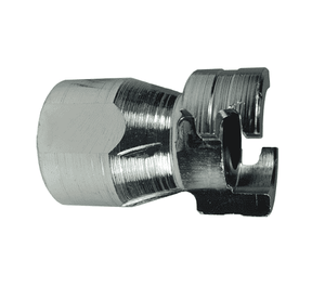 "P4F3 Dixon Steel P-Series Quick Disconnect 1/2"" Thor Interchange Pneumatic Nipple - 3/8""-18 Female NPTF"