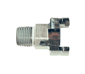 "P4M3 Dixon Steel P-Series Quick Disconnect 1/2"" Thor Interchange Pneumatic Nipple - 3/8""-18 NPTF"