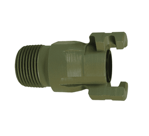 "P4M6-9 Dixon Steel/Tefcoat P-Series Quick Disconnect 1/2"" Thor Interchange Pneumatic Nipple - 3/4""-14 NPTF"