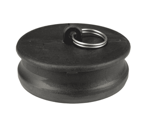 "PPP400 Dixon 4"" Type P Polypropylene Adapter - Dust Plug"