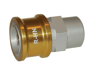 R-HN Dixon 1 in NPT Anodized Aluminum Flomax R Series Connector - Hydraulic Oil Nozzle