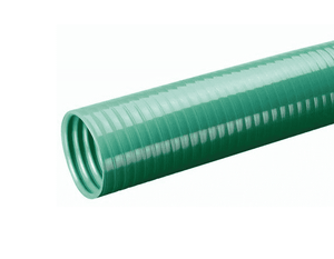 "SLV-DRP4X3 Kuriyama Tigerflex SLV-DRP Series, Green, Non-Food Grade Banding Sleeve - Flexible PVC - 4"" - 3ft"