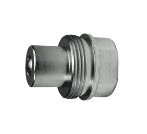 "T3F3-SS Dixon 316 Stainless Steel T-Series Quick Disconnect 3/8"" High Pressure Ball Interchange Hydraulic Nipple - 3/8""-18 Female NPT"