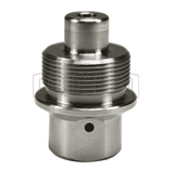 "TD4PF4.5-SS Dixon TD-Series Ultra-High-Pressure Plug - 316 Stainless Steel - 1/2"" Body Size - 9/16"" Female MP"
