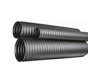 "TMOD1200X25 Kuriyama Thermo-Duct Thermoplastic Rubber Ducting Hose - Black - ID: 12"" - 6PSI - 25ft"