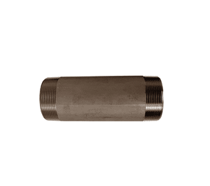 "TN075X3SS Dixon 316 Stainless Steel Pipe Nipple - Threaded Both Ends - 3/4"" Male NPT - 3"" Overall Length"