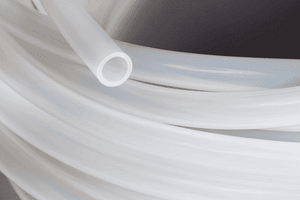 "Tygon® TYGII04 7/8"" ID x 1-3/8"" OD x 1/4"" Wall (Tygon® II) 500' Package Length - Tubing for Milking Equipment"