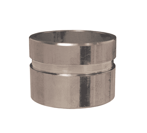 "VNR2500-200 Dixon 316 Stainless Steel Grooved End x Weld Nipple - 2-1/2"" Nominal Size"
