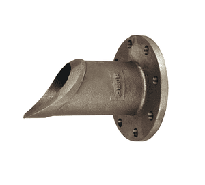 "WA4FL12X1050-1 Dixon 10-1/2"" Weldable Cast Steel One-Piece 150# Flange to Weld Adapter - 150# Flange x Weld Adapter - 1 Hole"