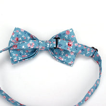 Load image into Gallery viewer, Unisex Floral Bow Tie