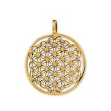 Orgone Bronze Flower of Life