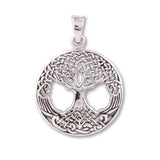 Sterling Silver Tree of Life Ionic Orgone Pendant & Chain