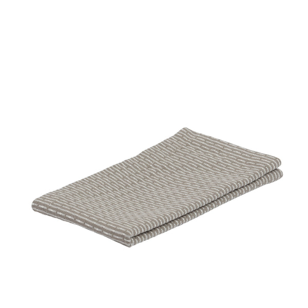 Karklud Kitchen and Wash Cloth fra The Organic Company Clay Stone