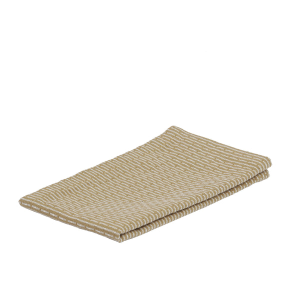 Karklud Kitchen and Wash Cloth fra The Organic Company Khaki Stone