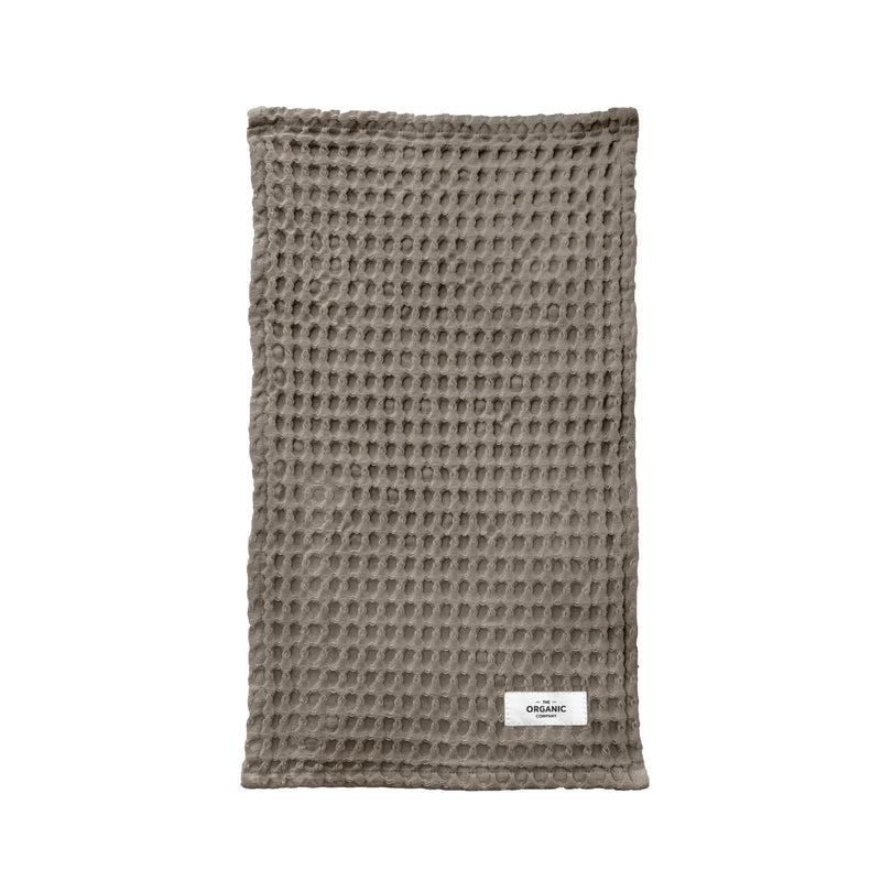 Vaske- eller karklud – Big Waffle Kitchen and Wash Cloth fra The Organic Company i farven Clay
