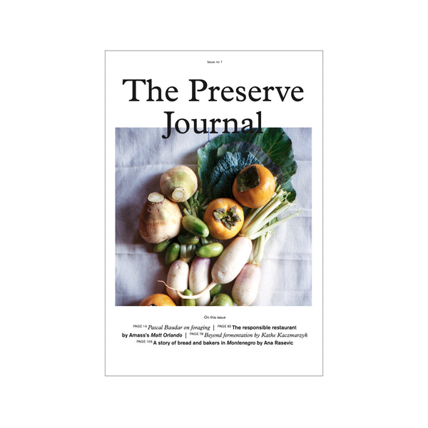 The Preserve Journal no. 1
