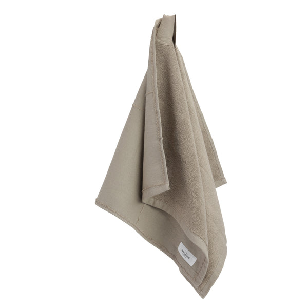 Calm Hand Towel fra The Organic Company, Clay, økologiske tekstiler, Oliviers & Co