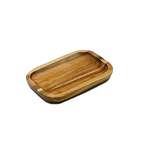 "Acacia Serving rectangle tray / dish 6"" X 4"""