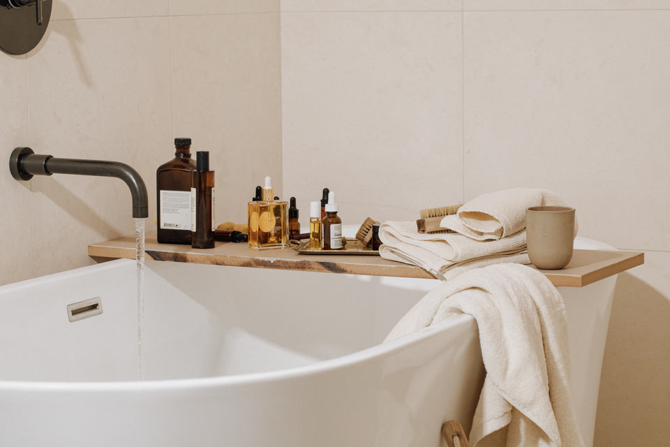 Relax in and out of the bath with Takasa Organic and Fairtrade Cotton Bath Towels