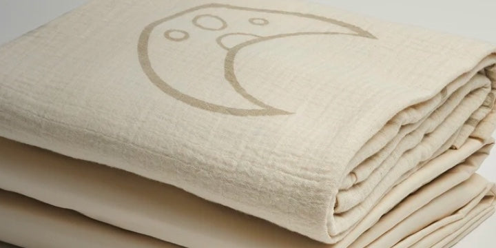 Crib Sheets and Muslin Wraps