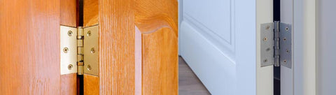 How to quickly install the door hinges