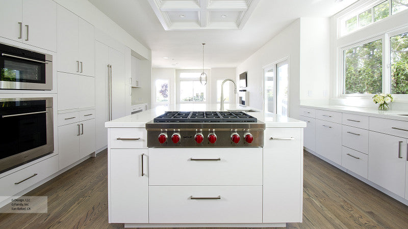 How to better match the kitchen hardware