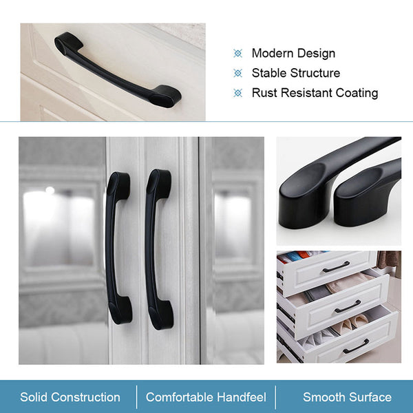 kitchen black cabinet handles