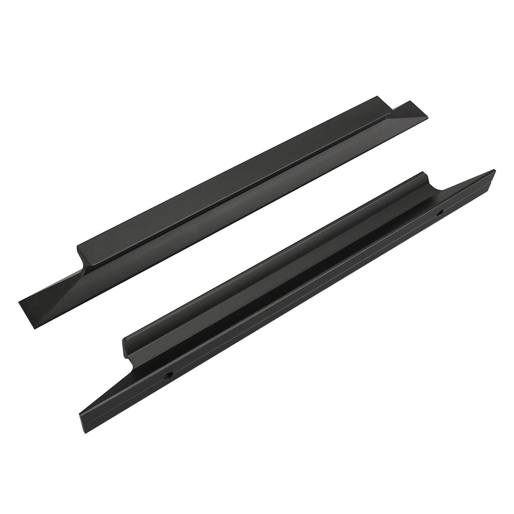 5in(128mm) Hole Centres Kitchen Dresser Drawer Pull Black(LS7024BK)