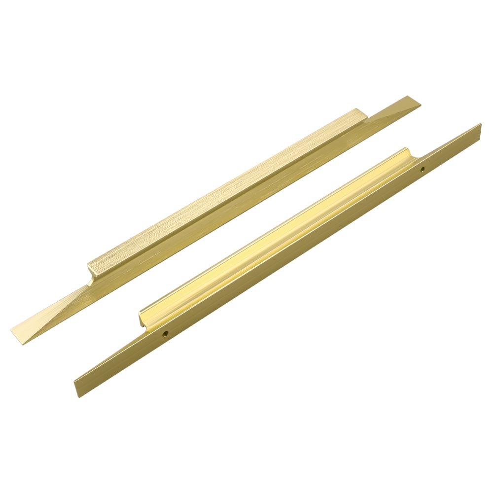 7-1/2 in Brushed Brass Drawer Pull for Dresser Drawers(LS7024GD)