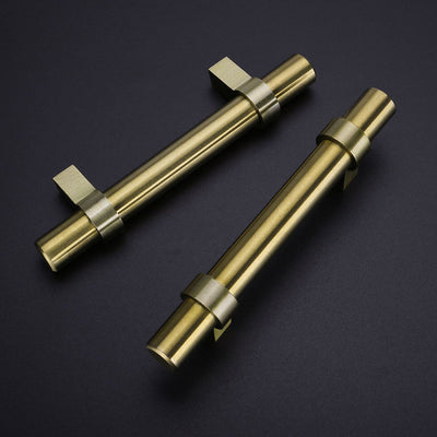 10 pack brushed brass cabinet hardware pulls for kitcken(LST16GD)