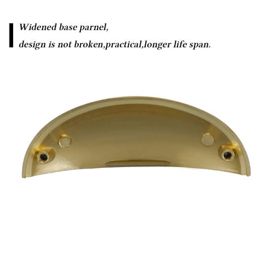 20 Pack Gold Kitchen Cabinet And Darwer Cup Handles pulls(LS0313BB76)