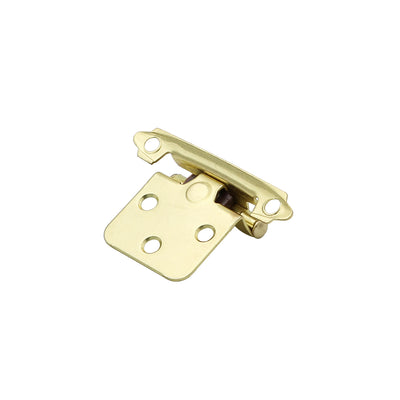 Gold Decorative Hinges for Cabinets Bathroom and Cupboard(10 pairs)