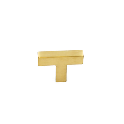 Single hole kitchen knobs gold for cabinet, drawer (LSJ12GD) - Goldenwarm