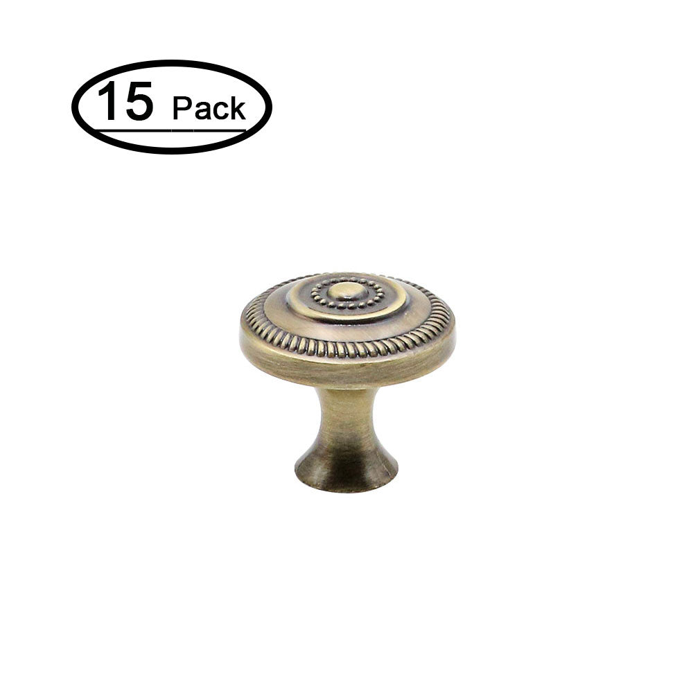 modern set of 15 cabinet knobs with painting(0506ab) - Goldenwarm